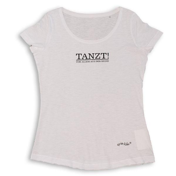"""Lässiges Oversize T-Shirt """"TANZT"""" Vorallem aus der Reihe"""