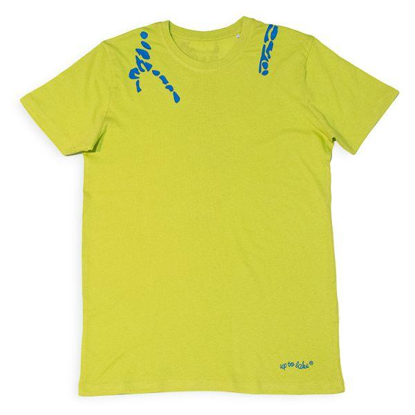 """Bio-T-Shirt mit """"großem"""" Leo Neon-Bodensee"""
