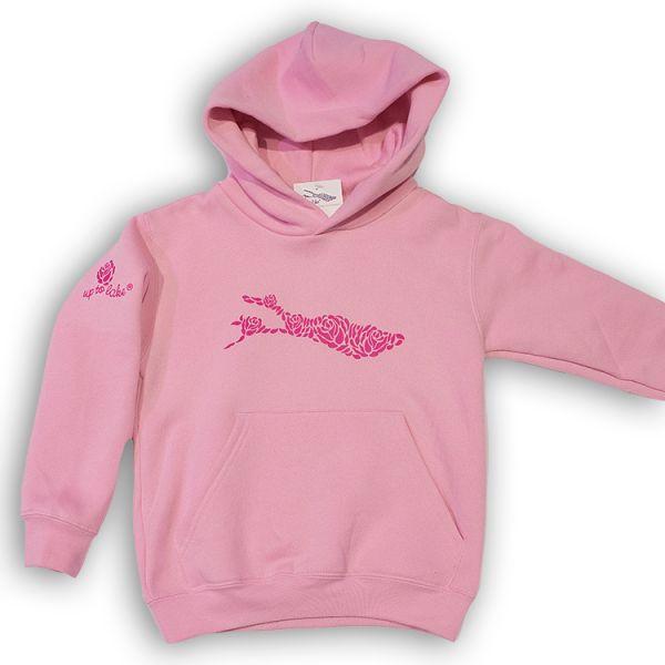 Mädchen Hoody in Mädchen Farben in rosa und pink