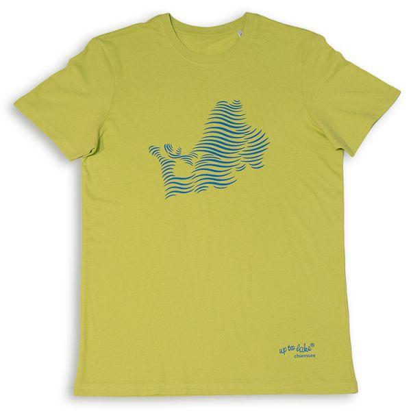 Bio T-Shirt Chiemsee mit Wellen