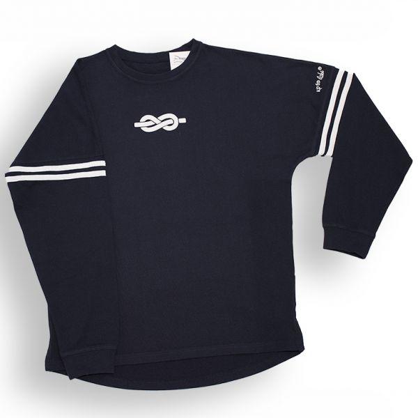 Maritimes T-Shirt mit Seglerknoten